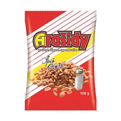 Spišské arašidy solené